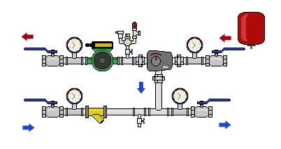 Теплообменник промежуточный узел теплообменник альфа лаваль производитель