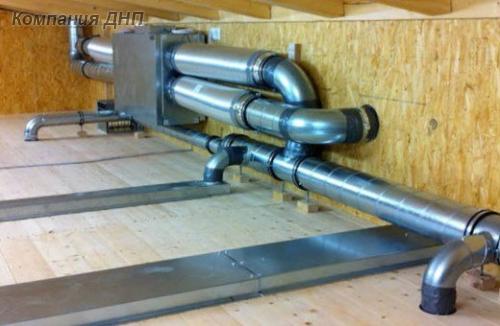 Особенности установки вентиляционной системы в дачном доме
