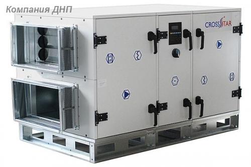 Приточно-вытяжная установка с рекуператором